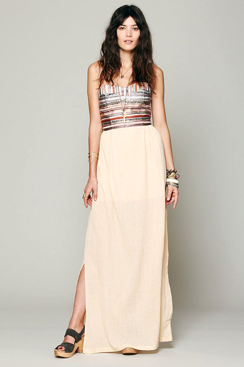 Bohemian Dress, from Free People
