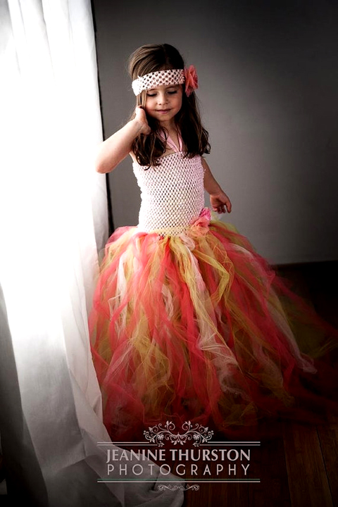 Tutu Flowergirl Dress, from Kimbercyr