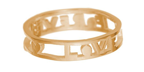 Forever Love Ring, from Tatty Devine
