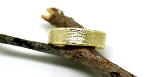Fingerprint Ring, from Shtaim