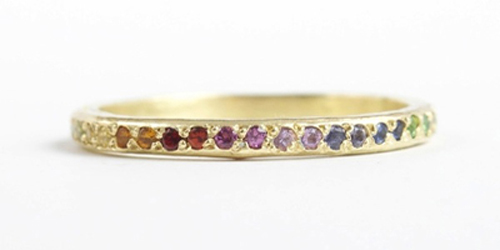Ombre Elisa Solomon Ring, from Catbird