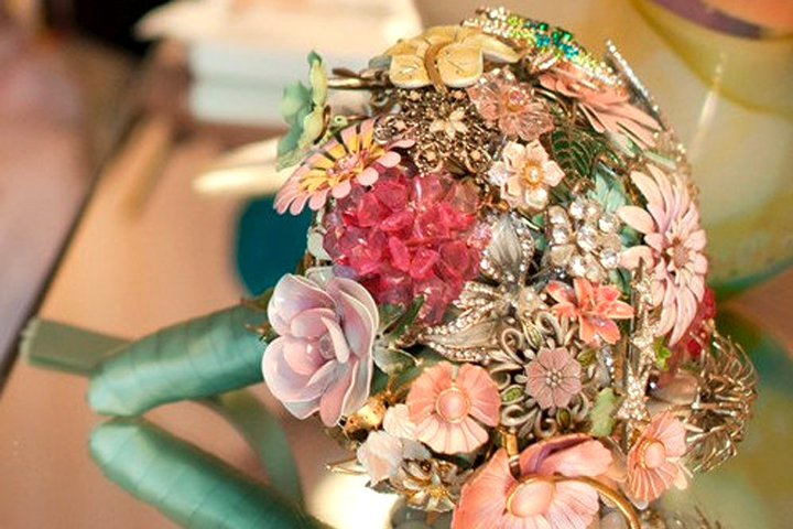 Brooch Bouquet, by Lionsgate Designs