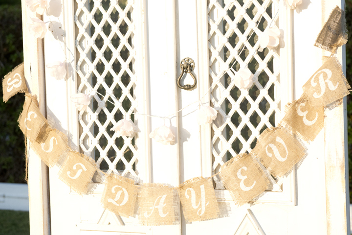 Best Day Ever Bunting from Our Collection, Photo by Blush Photography Algarve