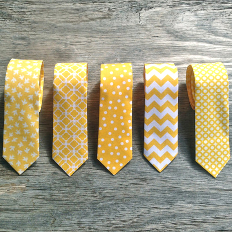 Yellow Tie Collection, by Little Vys