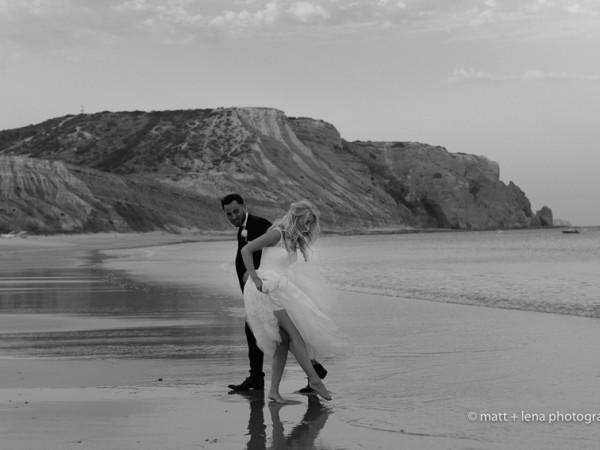 Scarlett and Neil, Praia Da Luz