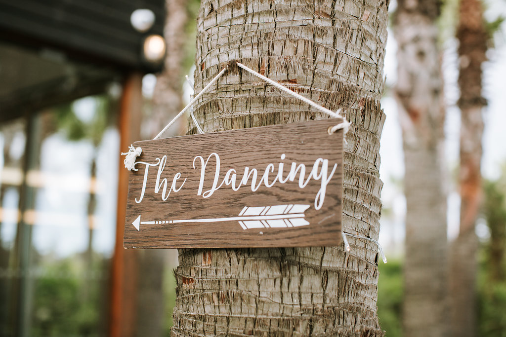 signage wedding decoration hire in the algarve